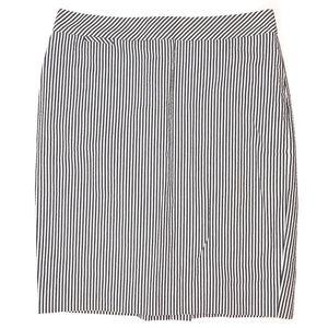 J. Crew Skirt Size 8 The Pencil Seersucker Striped